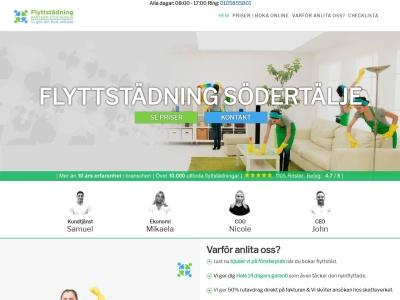 www.flyttstädsödertälje.com