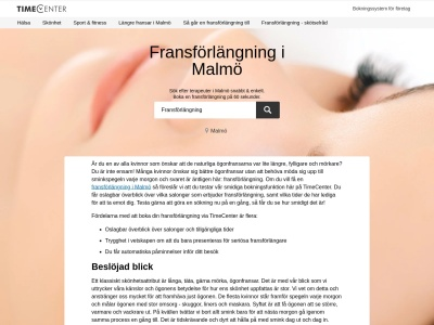 www.fransförlängningmalmö.se