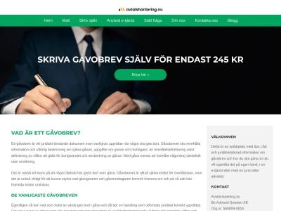 www.gåvobrev.com