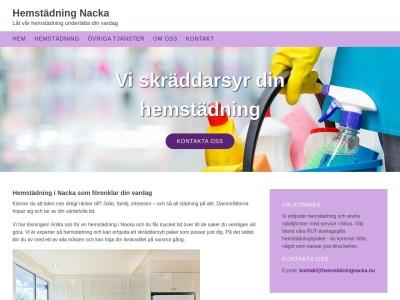 www.hemstädningnacka.nu