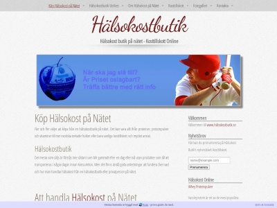 www.xn--hlsokostbutik-bfb.se