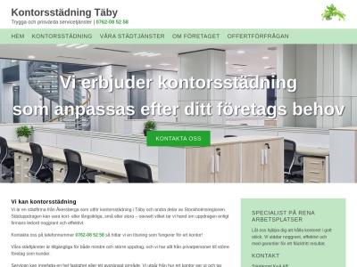 www.kontorsstädningtäby.se