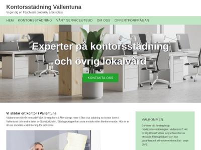 www.kontorsstädningvallentuna.se