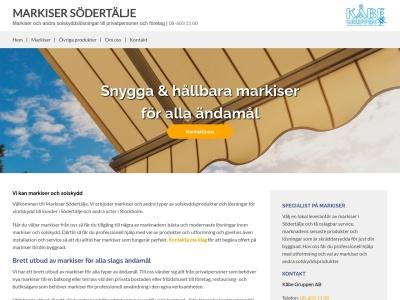 www.markisersödertälje.se