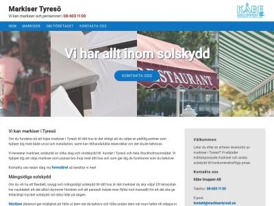 www.markisertyresö.se