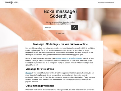 www.massagesödertälje.se