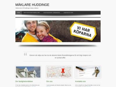 www.mäklarehuddinge.nu