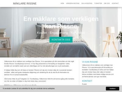 www.mäklarerissne.se