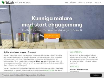 www.målarebromma.nu