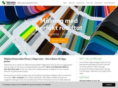 www.målarehägersten.nu
