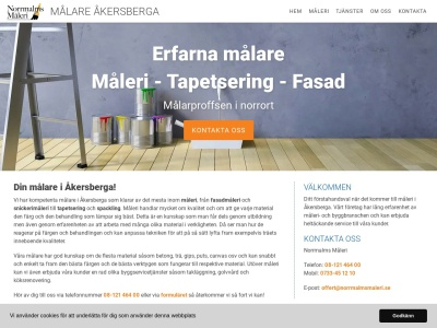 www.målareåkersberga.nu