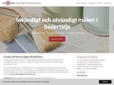 www.målaresödertälje.nu