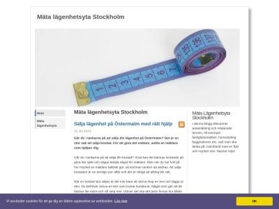 www.mätalägenhetsytastockholm.nu