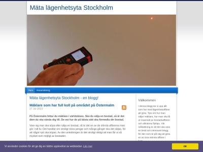 www.mätalägenhetsytastockholm.se