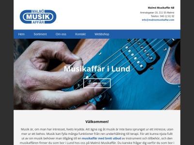 www.musikaffärlund.se