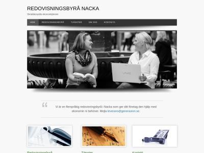 www.redovisningsbyrånacka.nu