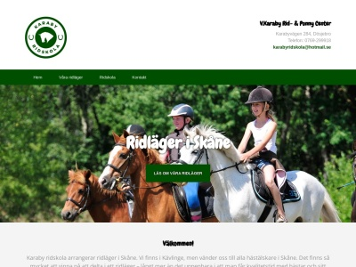 www.ridlägerskåne.se