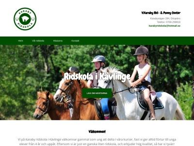www.ridskolakävlinge.se