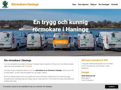 www.rörmokarehaninge.se