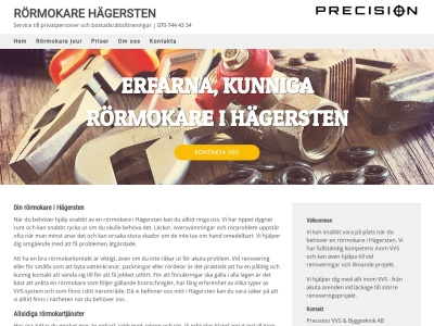 www.rörmokarehägersten.nu