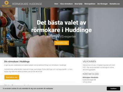 www.rörmokarehuddinge.nu