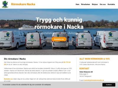 www.rörmokarenacka.se