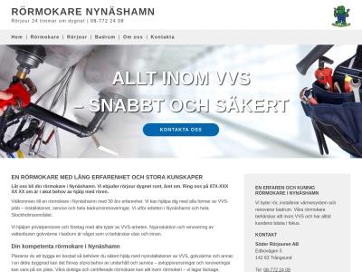 www.rörmokarenynäshamn.nu