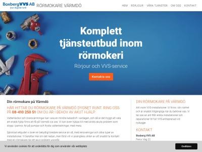 www.rörmokarevärmdö.se