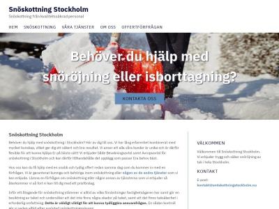 www.snöskottningstockholm.nu