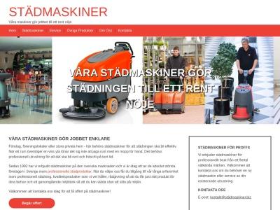 www.städmaskiner.biz
