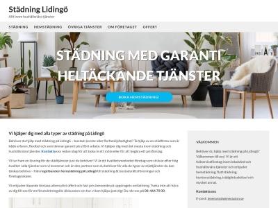 www.städninglidingö.nu