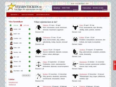 www.stjärntecken.se