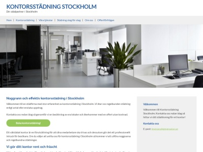 www.stockholmkontorsstädning.nu