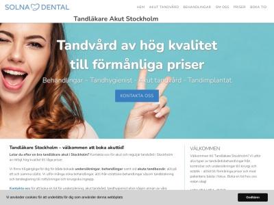 www.stockholmtandläkare.se