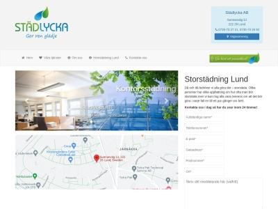 www.storstädninglund.se