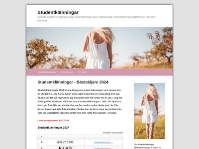 www.studentklänningar.nu