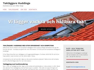 www.takläggarehuddinge.se