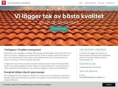 www.takläggarevingåker.se