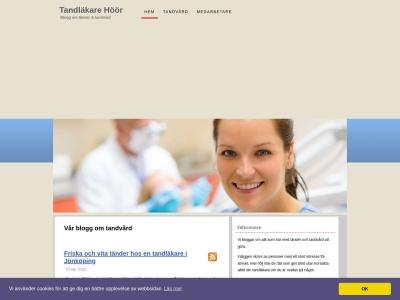 www.tandläkarehöör.se