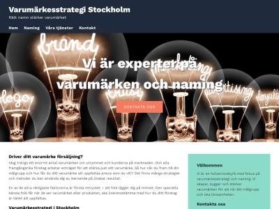 www.varumärkesstrategi.se