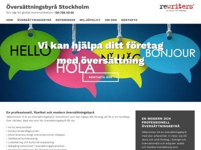 www.översättningsbyråstockholm.se