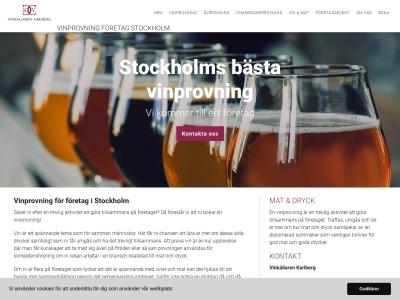 www.vinprovningföretagstockholm.se