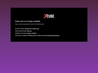 Screenshot for xtube.com