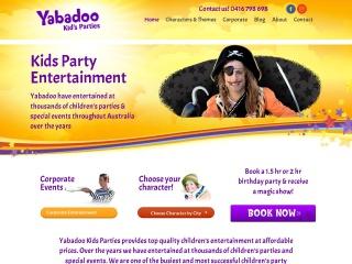 Screenshot for yabadoo.com.au