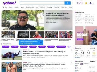 Screenshot for yahoo.com