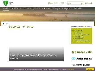 Screenshot for ylenurme.ee