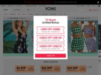 Yoins Fast Coupon & Promo Codes