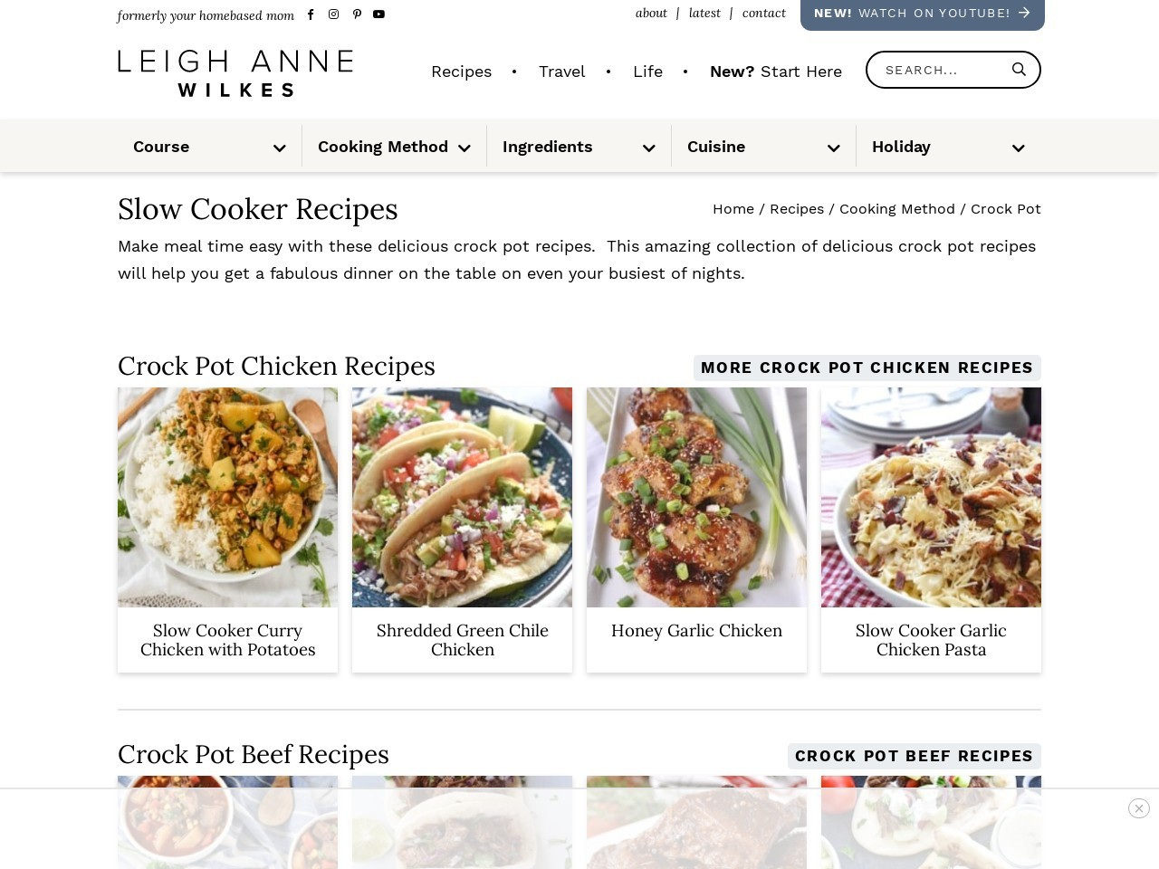 20 Slow Cooker Recipes – your homebased mom