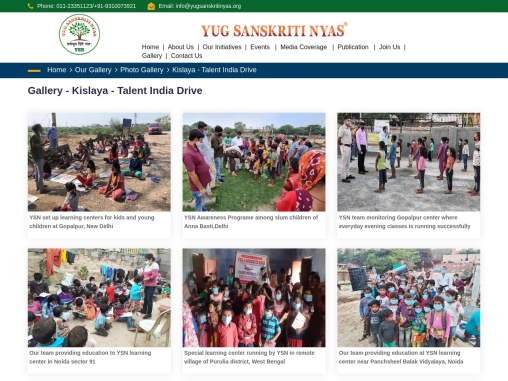 YSN – Talent India Drive Gallery