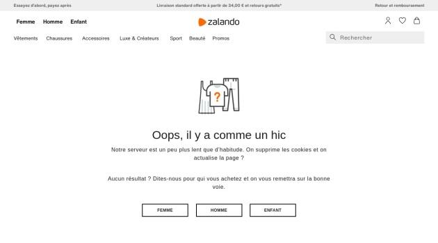 Anniversaire Zalando 50% de reduction sur Tout le site